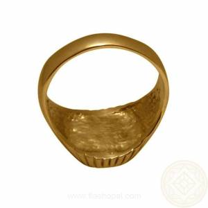 8 grams 14k Yellow Gold ring