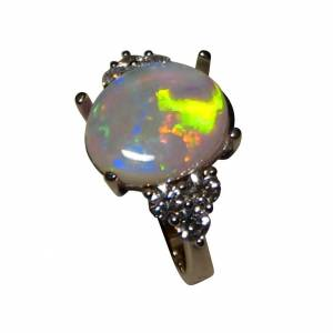 Opal engagement ring or dress ring