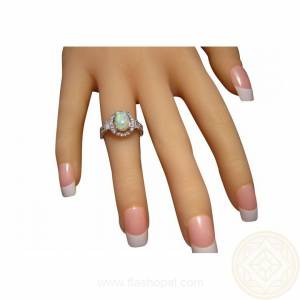 Opal ring for women for sale