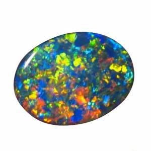 Gem black opal for sale