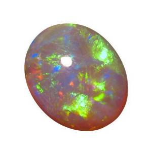 Oval Dark Crystal Opal for sale