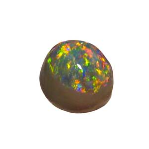 solid black opal stone