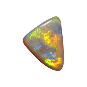 Natural semi black opal stone for sale