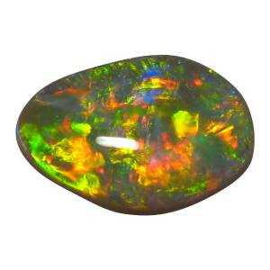 100% natural semi black opal for jewelry